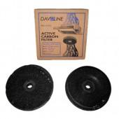 Φίλτρο Άνθρακα DAVOLINE P1619 (Σετ 2 τεμάχια)