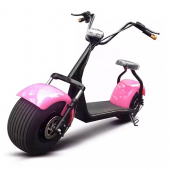 ELECTRIC SCOOTER N1 PINK for Modern Ladies *Full Extra